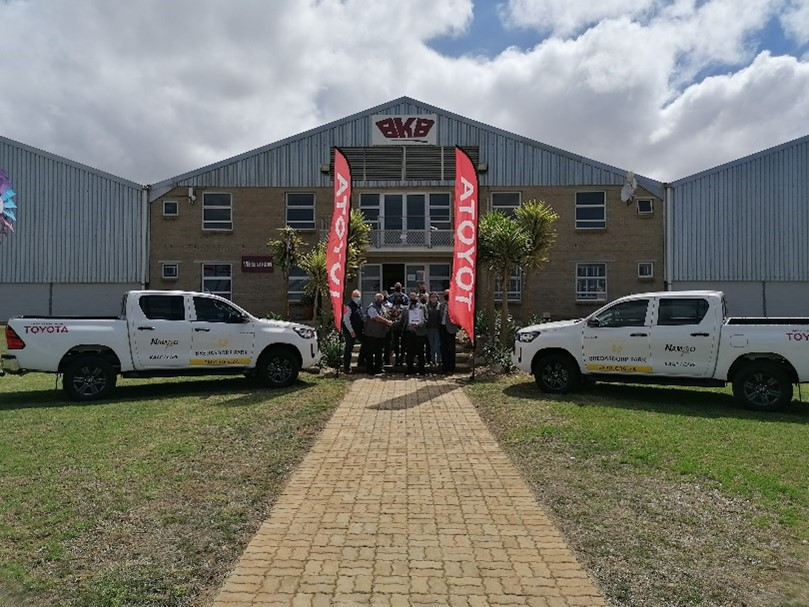 Toyota SA gets the wheels turning at Bredasdorp Park